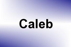 Caleb name image
