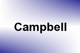 Campbell name image