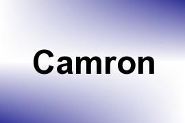 Camron name image
