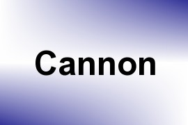 Cannon name image