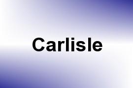 Carlisle name image