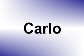 Carlo name image
