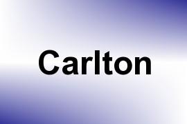 Carlton name image