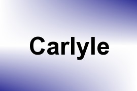 Carlyle name image