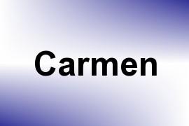 Carmen name image