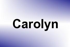 Carolyn name image