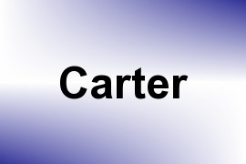 Carter name image