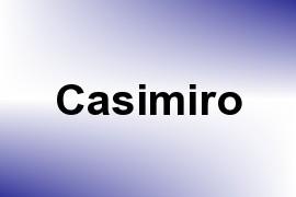 Casimiro name image