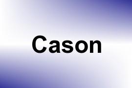 Cason name image