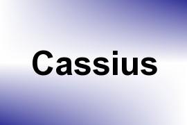 Cassius name image