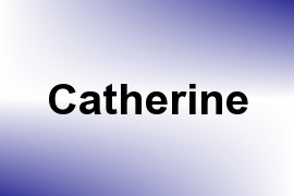Catherine name image