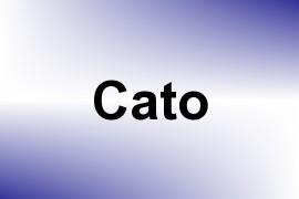 Cato name image
