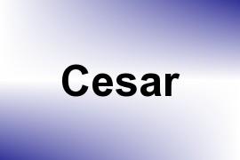 Cesar name image