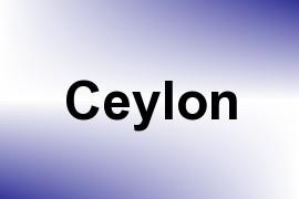 Ceylon name image