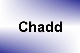 Chadd name image