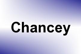 Chancey name image