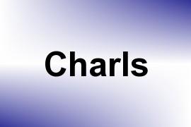 Charls name image