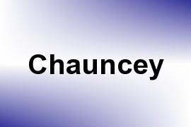 Chauncey name image