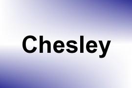 Chesley name image