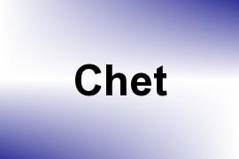 Chet name image