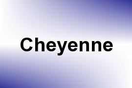 Cheyenne name image