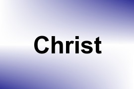 Christ name image