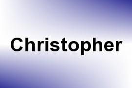 Christopher name image