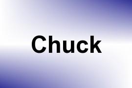 Chuck name image