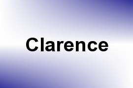 Clarence name image