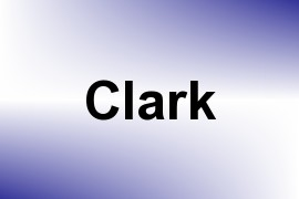Clark name image