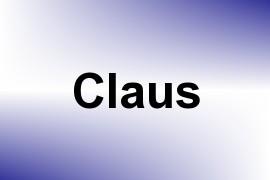 Claus name image