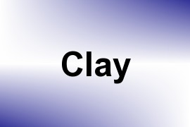 Clay name image