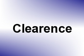 Clearence name image