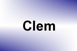 Clem name image