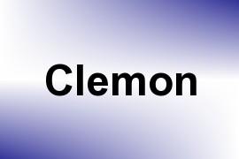 Clemon name image