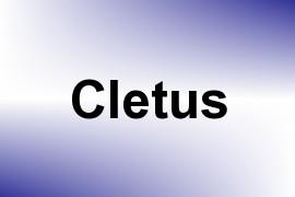 Cletus name image