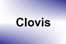 Clovis name image