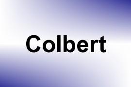 Colbert name image
