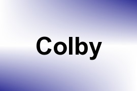 Colby name image