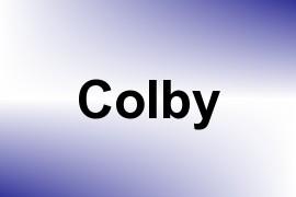 Colby name image