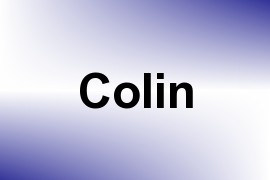 Colin name image