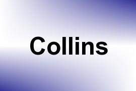 Collins name image