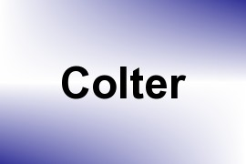 Colter name image