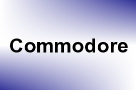 Commodore name image