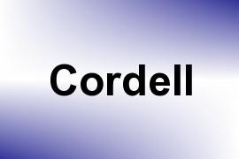 Cordell name image