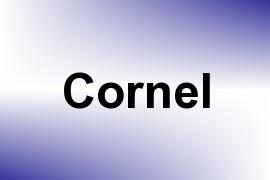 Cornel name image