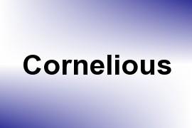 Cornelious name image