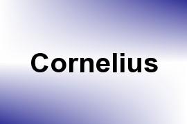 Cornelius name image