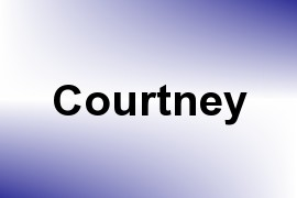 Courtney name image