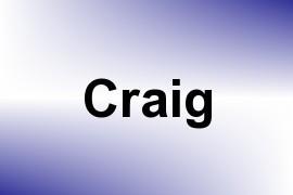 Craig name image
